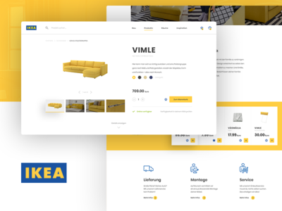 IKEA Concept furniture ui interior shop product redesign ikea concept