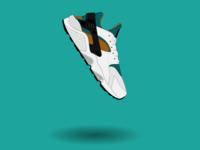 Nike Huarache Illustration