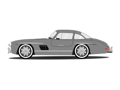 Mercedes-Benz 300 SL illustration