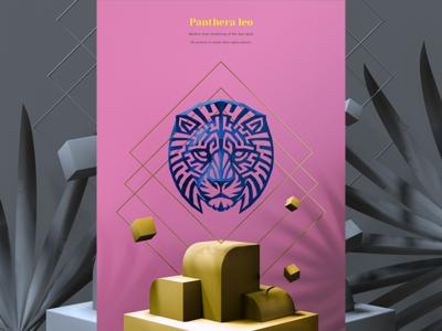 3d Printed Lion Head