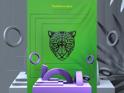 3d Printed Jaguar Head