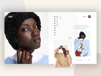 Fashion product page concept