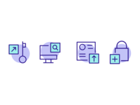 Custom blockchain icons