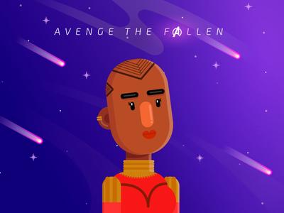 Okoye - Avenge the Fallen