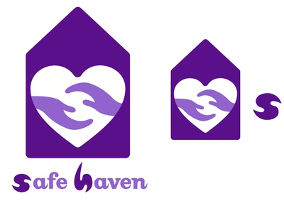 Safe Haven Logo display ad motion graphic graphic illustrator illustration design icon image wordmark logo