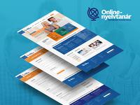 Online-Nyelvtanár webdesign