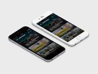Unibreeze app main screen