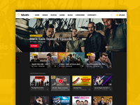 LaLuaTv webdesign