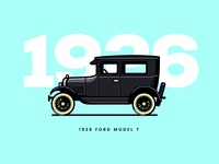Ford T Model 1926
