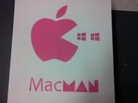 Mac Man Screenprint