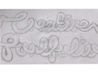 Danniiliciouz: Curly Creative Portfolio Sketch