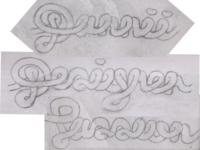 Danniiliciouz: Other Curly Words Sketches