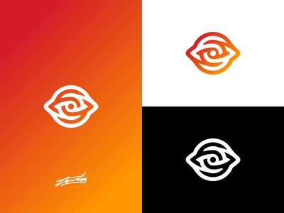 O + Eye Logo for Sale