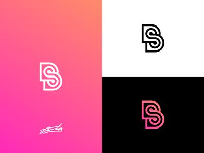 BS Monogram Logo Concept