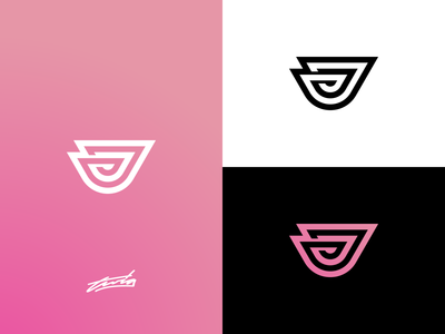 J Logo Concept for Sale