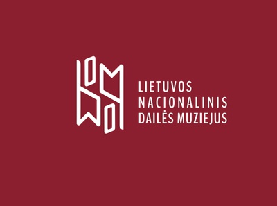 Logo design for National art museum of Lithuania