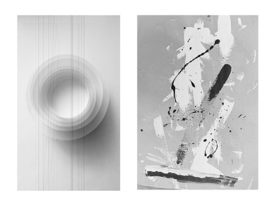 abstract artworks pure white music conceptual modernart painting blackandwhite abstractart abstraction abstract artwork
