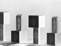 Packaging design for perfume