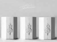 Packaging design for luxurious perfume