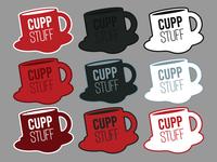 Cuppstuff Logo Lineup