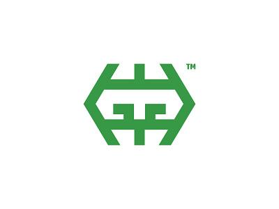 Gruffalo Unused Logo Design Concept creativity abstract business mowing b2b technology machinery machine mulcher logo designer logo design logo