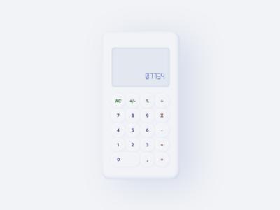SoftUI Calculator