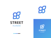 Street Flower Logo Design