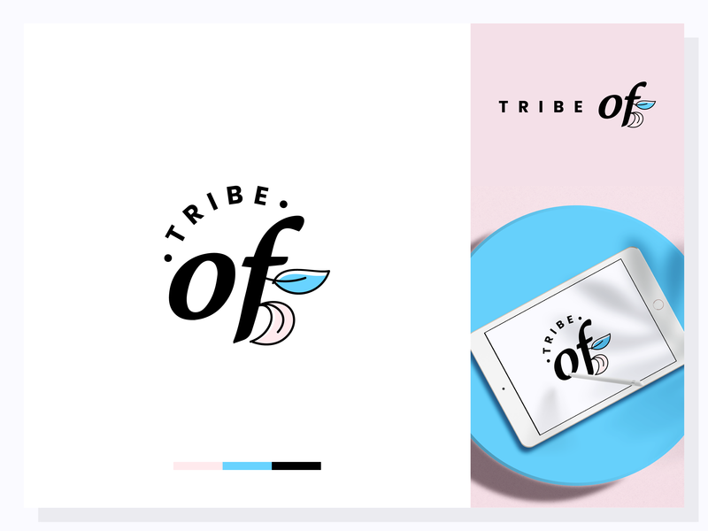 Tribe Of 5 logo vector web branding icon illustration mark icon symbol typography mark ios inspiraldesign graphic clever clean graphic  design adobe