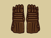 Old Time Hockey Gloves