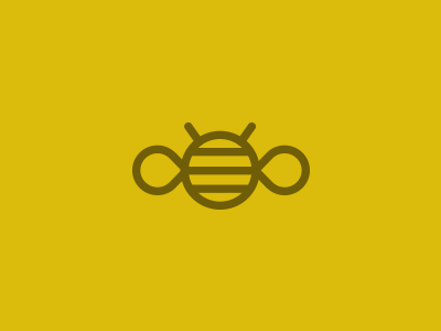 Bee Logo bee logo design minimal graphic design icon illustration