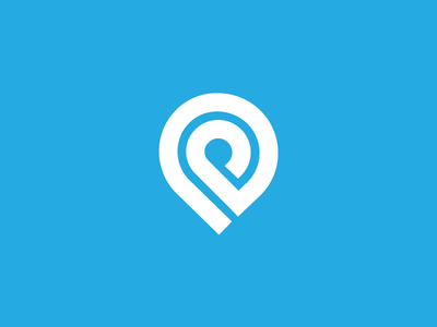 Pin Logo V2 clean minimal logo design graphic design brand branding icons icon design graphic logo