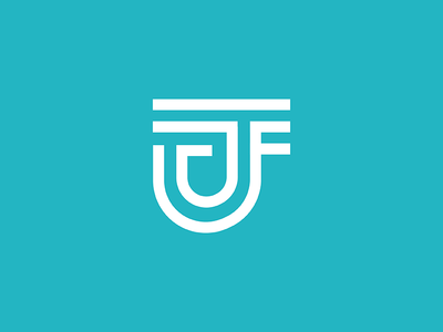 JFA Logo clean minimal logo design graphic design brand branding lines icon design graphic logo