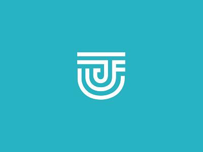 JFA Logo v2 clean minimal logo design graphic design brand branding lines icon design graphic logo