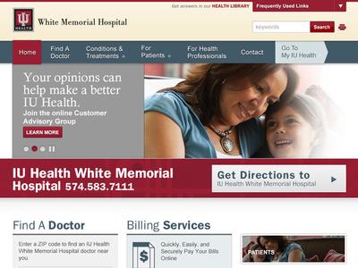 IU Health Web Design Elements