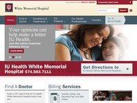 IU Health Web Design Elements