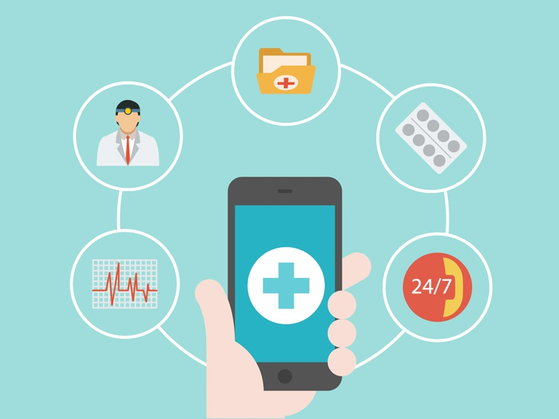 Tech Term Tuesday: Gamification flat technology medical medicine app iphone doctor graphic design design icon illustration