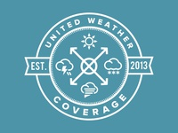 United Weather Coverage Logo