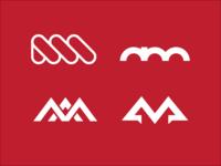 A M Letter Logo Experiment