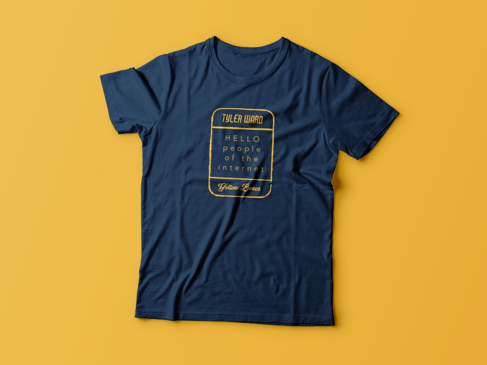 Tyler Ward Tour Tee by Chad Sugg on Dribbble