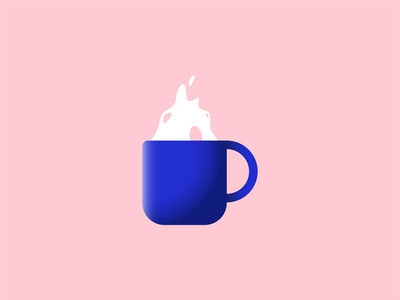 Coffee cup illustration icon a day flat design design daily illustration challenge daily art designdaily illustration daily design challenge daily 100 challenge graphic design