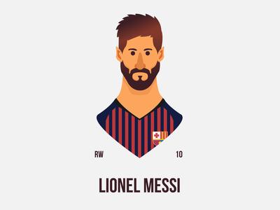 Lionel Messi - G. O. A. T.