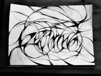 Beryllium, ink, paper