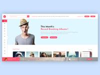 Miraculous - Music web app (Light Version)