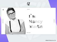 CV Portfolio - Website Template (Light Version)