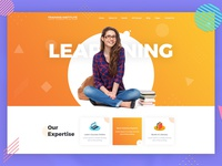 Education & Training Institute Website Template