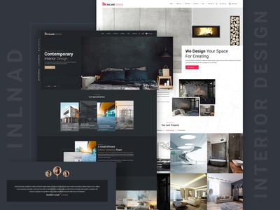 Inland - Interior Design PSD Template