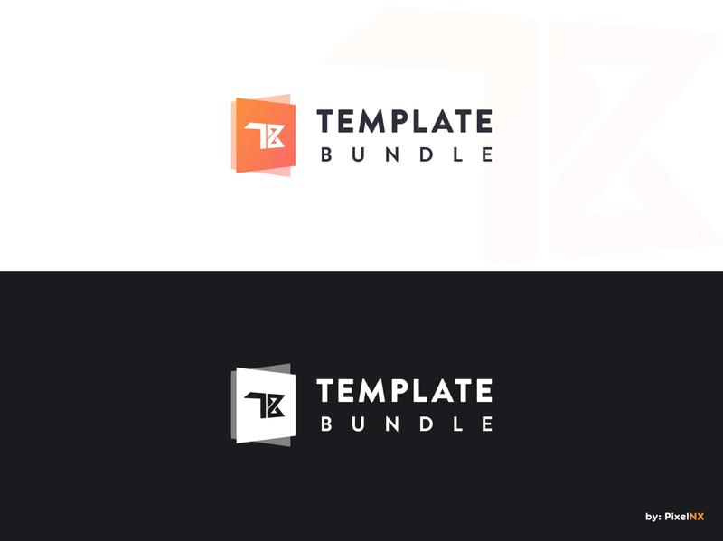 Logo - Template Bundle uiux ui free logo pixelnx psd logotype free website website wordpress html template bundle