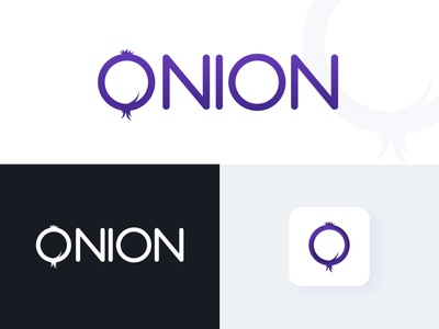 Onion Logo icon typography vector illustration design pixelnx ui psd logo concept onion logo logo onion