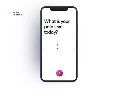 Painimation uiux health care health app interaction animation user interface app design case study casestudy app illustration design ux ui