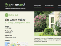 Another round of Vegourmand…
